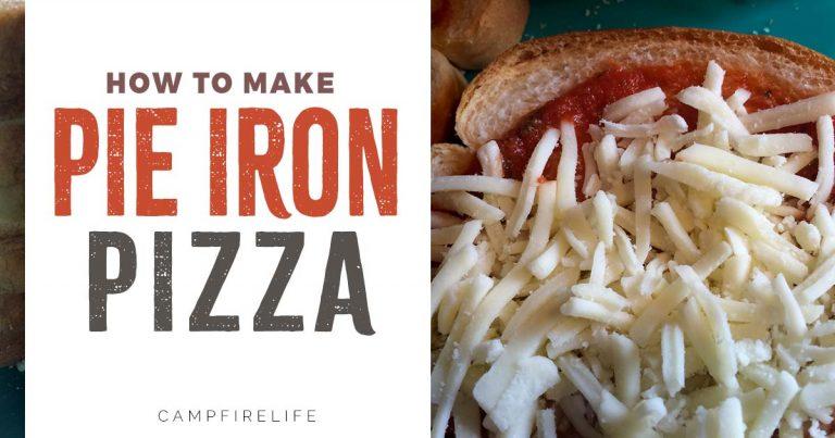 how to make pie iron pizza recipe