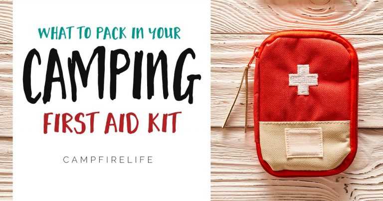 what to pack in camping first aid kit
