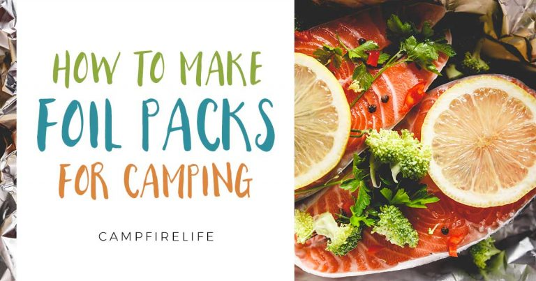 how to make foil packs for camping